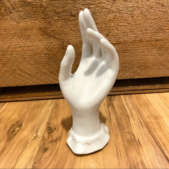 Vintage Made in Japan Porcelain Hand Ring Holder